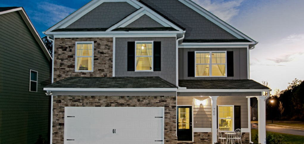 Home of the week buffington plan by smith douglas homes for New source homes