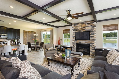 Royal Oaks Homes_Parker_Living Room_480