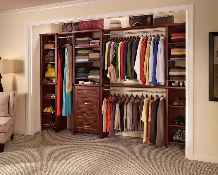 10 ways to keep your closet organized for Great closets