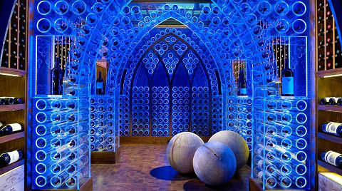 Wine Cellars_Blue Acrylic_Beckwith Interiors_480