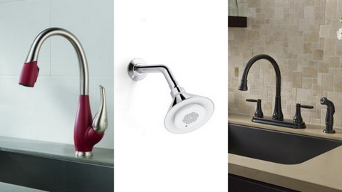 Faucet and Fixture Photo Montage