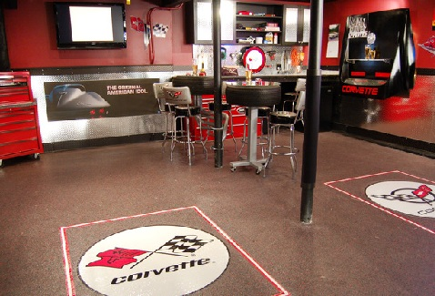 Man Cave Image Couretsy DIY Network