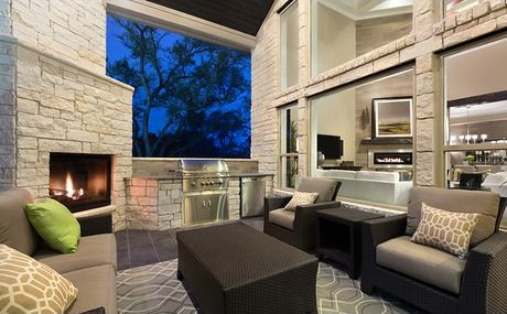 Outdoor Living_Standard Pacific_Pinehurst_Austin