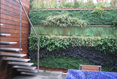 living wall ideas