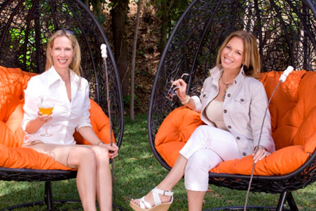 Lori and Kelli from Design Camp