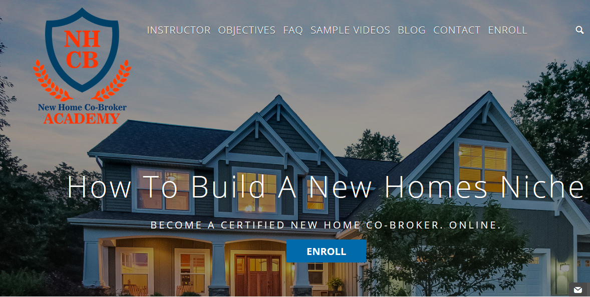New Home Co Broker Academy